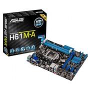 Placa Mãe Asus Core i7/i5/i3 DDR3 LGA1155 USB 2.0 UEFI Box - H61M-A