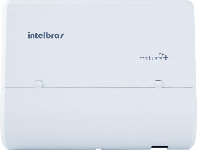 Central Telefonia Pabx Modulare Mais Intelbras 2 Troncos 4 Ramais  - ShopNoroeste.com.br