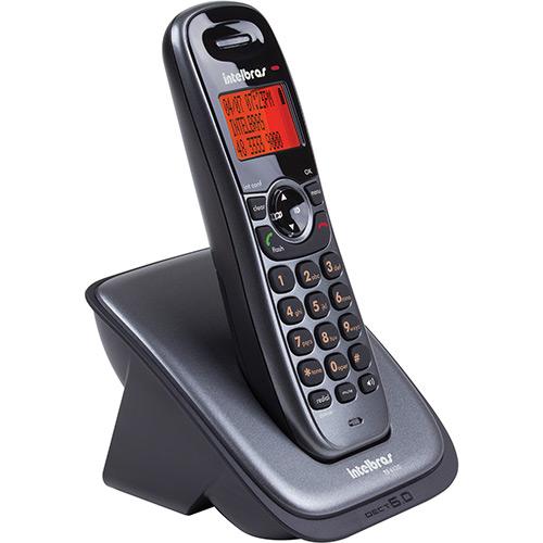 Telefone Sem Fio Dect 6.0 c/ Identificador de Chamadas, Agenda Telefônica e Viva Voz TS 6120 - Intelbras  - ShopNoroeste.com.br