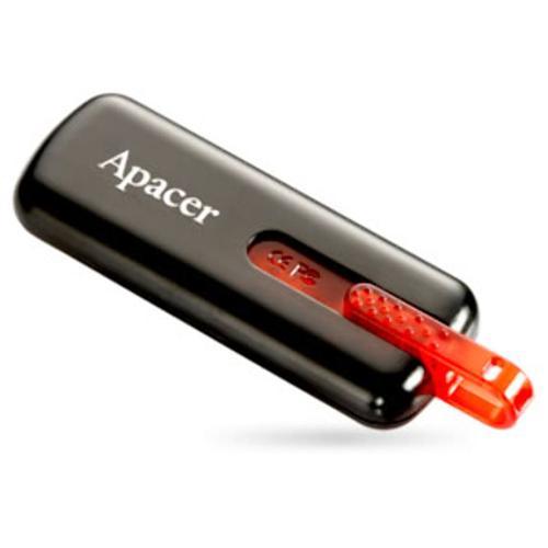 Pen Drive 8GB AH326 Preto - Apacer  - ShopNoroeste.com.br
