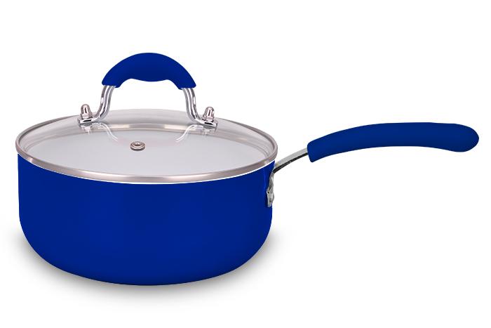 Panela Ceramic Blue 18 cm Super Reforçada 2,5 mm - Eirilar  - ShopNoroeste.com.br