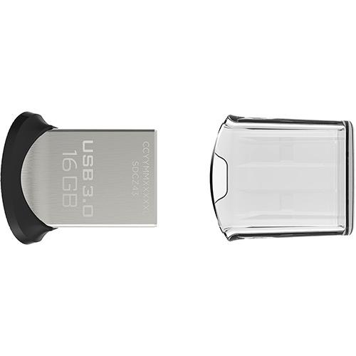Pen Drive SanDisk Ultra Fit USB 3.0 16GB  - ShopNoroeste.com.br