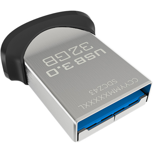Pen Drive SanDisk Ultra Fit USB 3.0 32GB  - ShopNoroeste.com.br