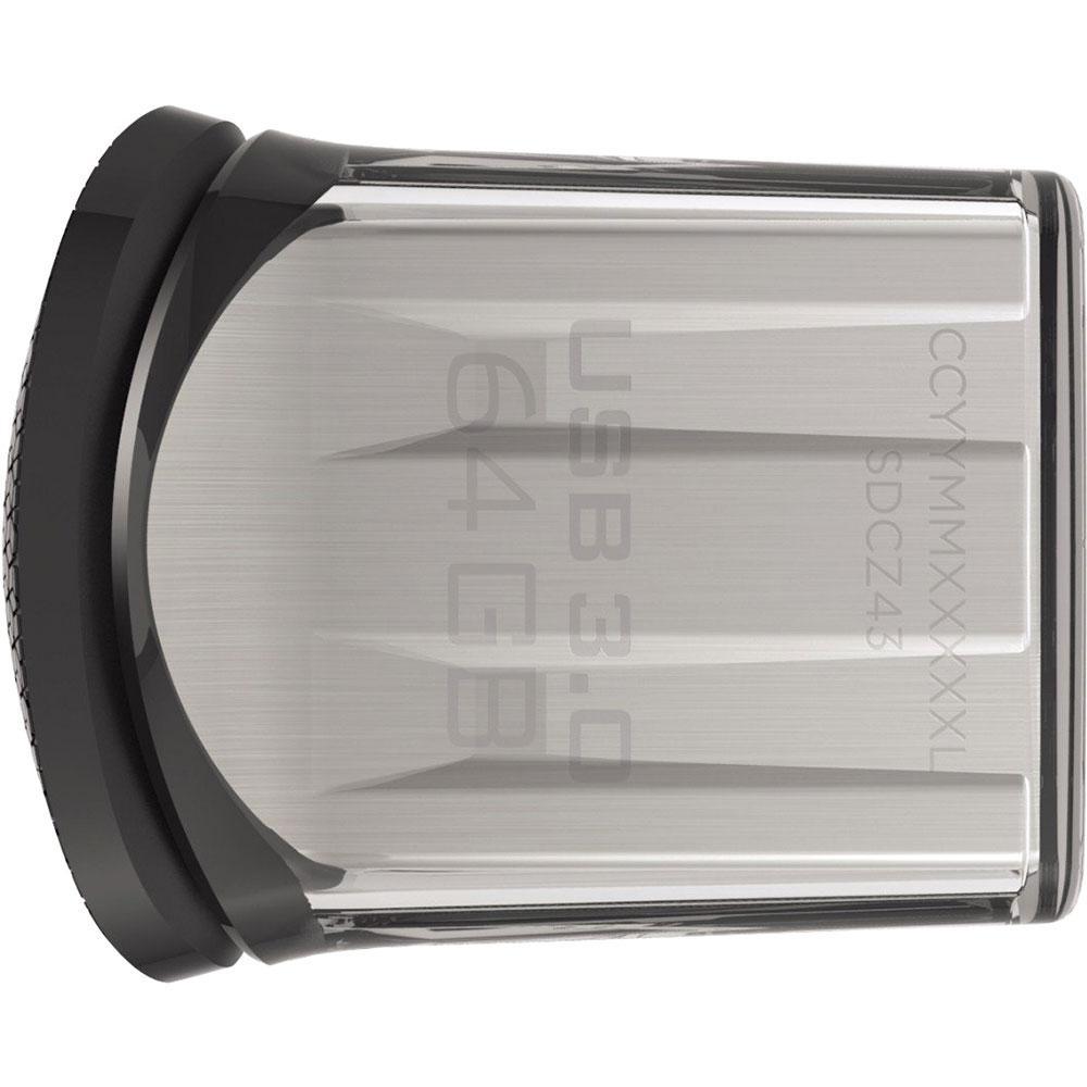 Pen Drive SanDisk Ultra Fit USB 3.0 64GB  - ShopNoroeste.com.br
