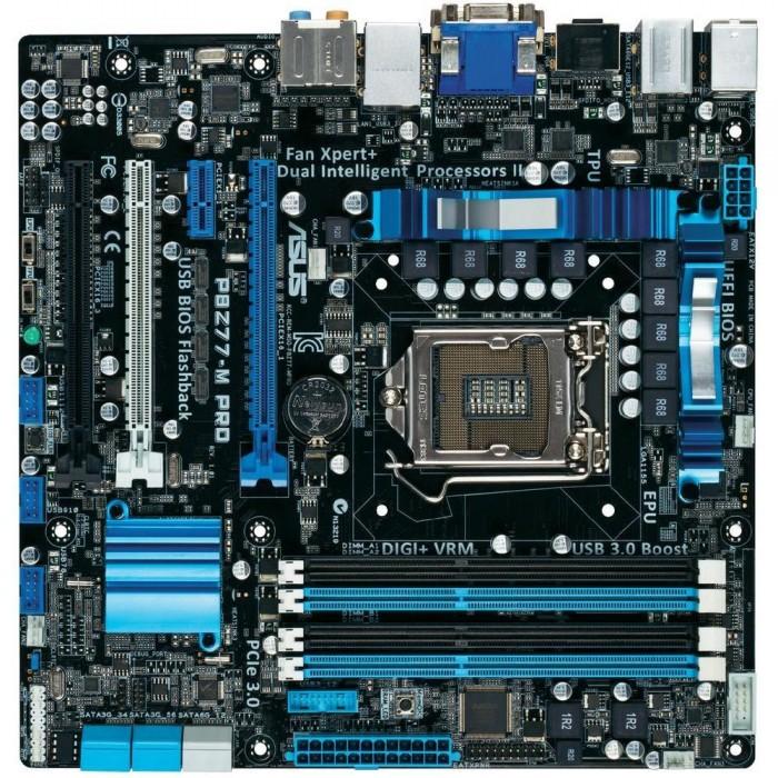 Placa Mãe ASUS p/ Intel P8Z77-M LGA 1155 Box, c/ USB 3.0, CrossFireX, iControl  - ShopNoroeste.com.br