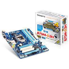 Placa Mãe Gigabyte GA-B75M-D3H LGA1155  - ShopNoroeste.com.br