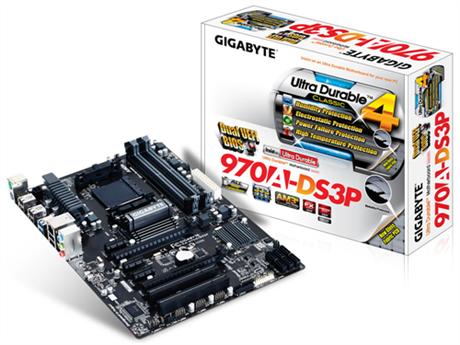 Placa Mãe GigaByte AMD AM3/AM3+ DDR3 GA-970A-DS3P  - ShopNoroeste.com.br