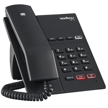 Telefone IP Intelbras TIP 120 Lite  - ShopNoroeste.com.br