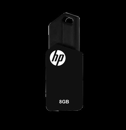 Pen Drive Hp 8Gb Preto Usb V150W  - ShopNoroeste.com.br