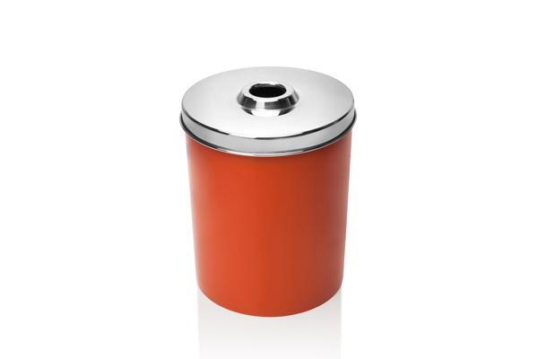 Coletor Para Pilhas e Baterias Só Lixeiras 11 Litros Tampa Inox  - ShopNoroeste.com.br