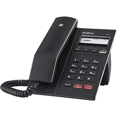 Telefone IP TIP 125 Lite Preto - Intelbras  - ShopNoroeste.com.br