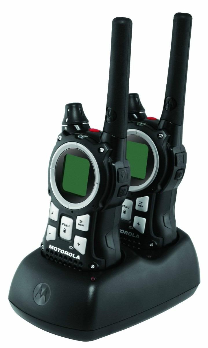 Radio Comunicador Motorola 56 KM Par MR350 MR Preto  - ShopNoroeste.com.br