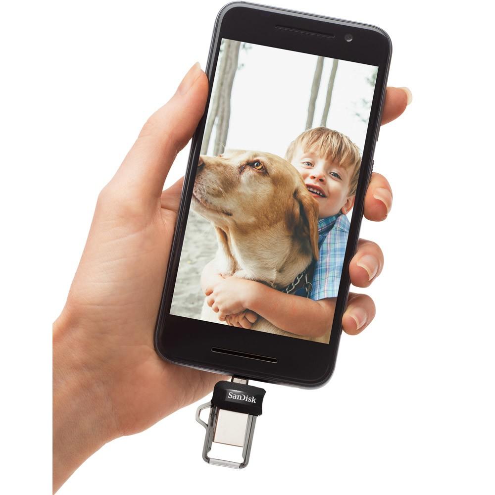 Pen Drive Para Smartphone Sandisk Ultra Dual Drive USB 3.0 64GB  - ShopNoroeste.com.br