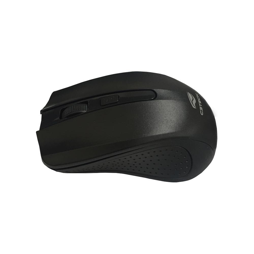 Mouse Sem Fio C3 Tech Wireless Preto M-W20BK RC Nano  - ShopNoroeste.com.br