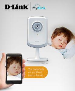 Câmera IP De Monitoramento D-Link DCS-930L  - ShopNoroeste.com.br