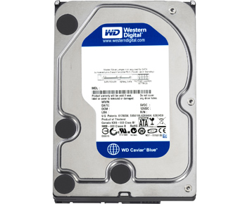 HD WD SATA3 500.0GB 7200RPM Caviar Blue 6Gb/s WD5000AAKX  - ShopNoroeste.com.br