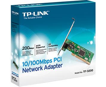 Placa de Rede TP-Link PCI 10/100 - TF-3200  - ShopNoroeste.com.br