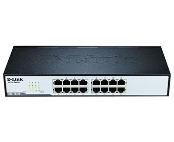 Hub Switch D-Link DES-1016D 16 Ports 10 / 100Mbps  - ShopNoroeste.com.br