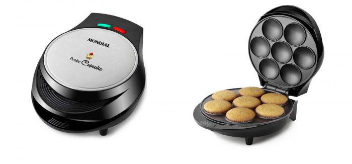 Máquina Cupcake Maker Pratic CK-01 127V - Mondial  - ShopNoroeste.com.br