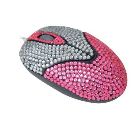 Mouse Óptico Leadership PS/2 Fashion 3551  - ShopNoroeste.com.br