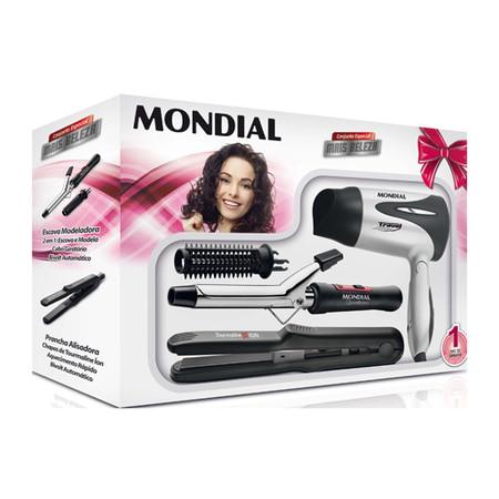Conjunto Especial Mais Beleza NKT-04 Bivolt - Mondial  - ShopNoroeste.com.br
