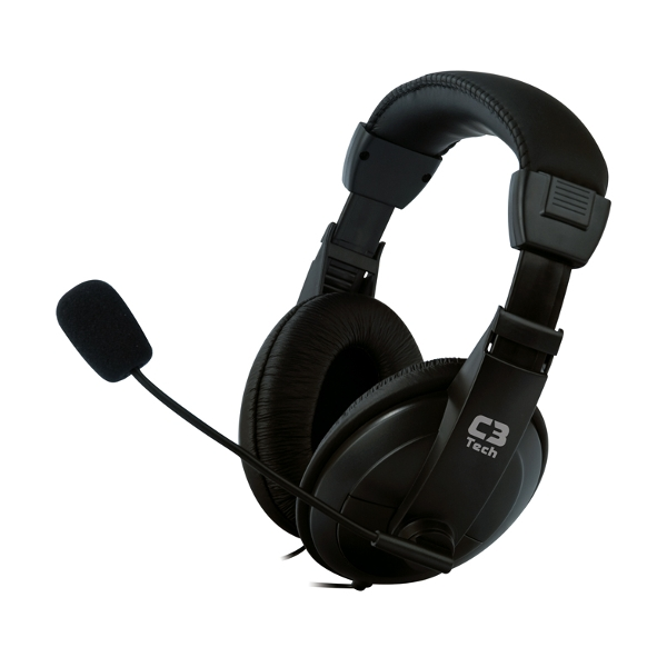 Headphone Headset Voicer Confort C3 Tech MI-2260  - ShopNoroeste.com.br