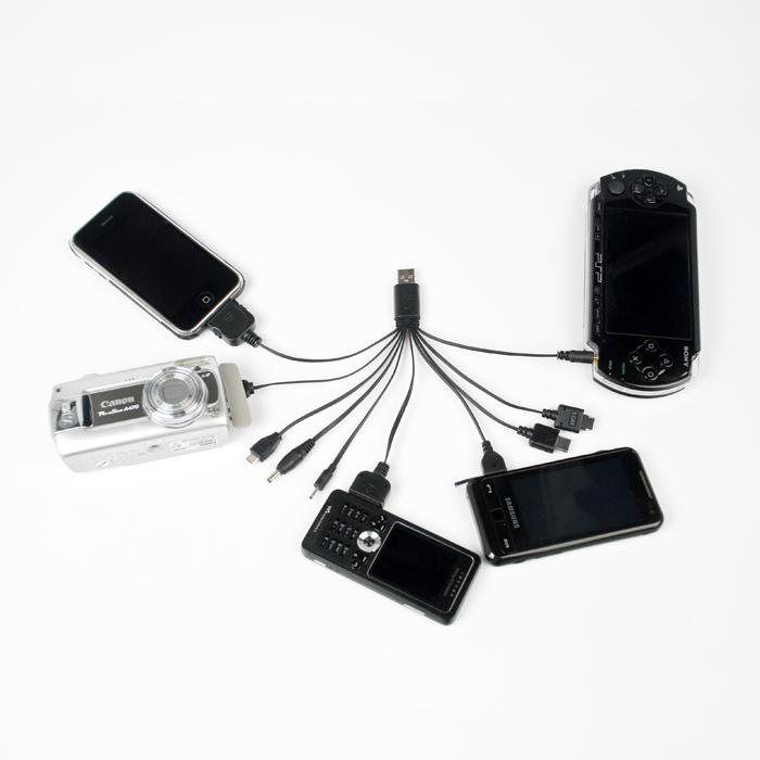 Carregador USB C3 Tech Multifunção Charger DUO UC-200  - ShopNoroeste.com.br