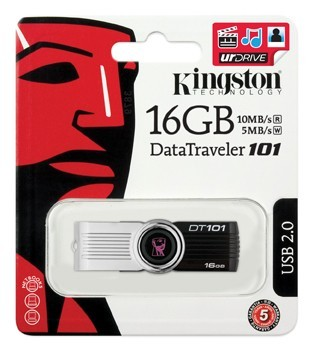 Pen Drive Kingston DataTraveler DT101G2 16GB  - ShopNoroeste.com.br