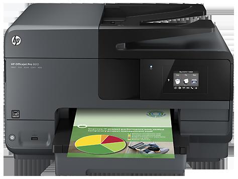 Impressora HP Multifuncional Jato de Tinta, Wi-Fi Officejet Pro 8610 Impressora/Scanner/Copiadora/Fax/Wi-Fi  - ShopNoroeste.com.br
