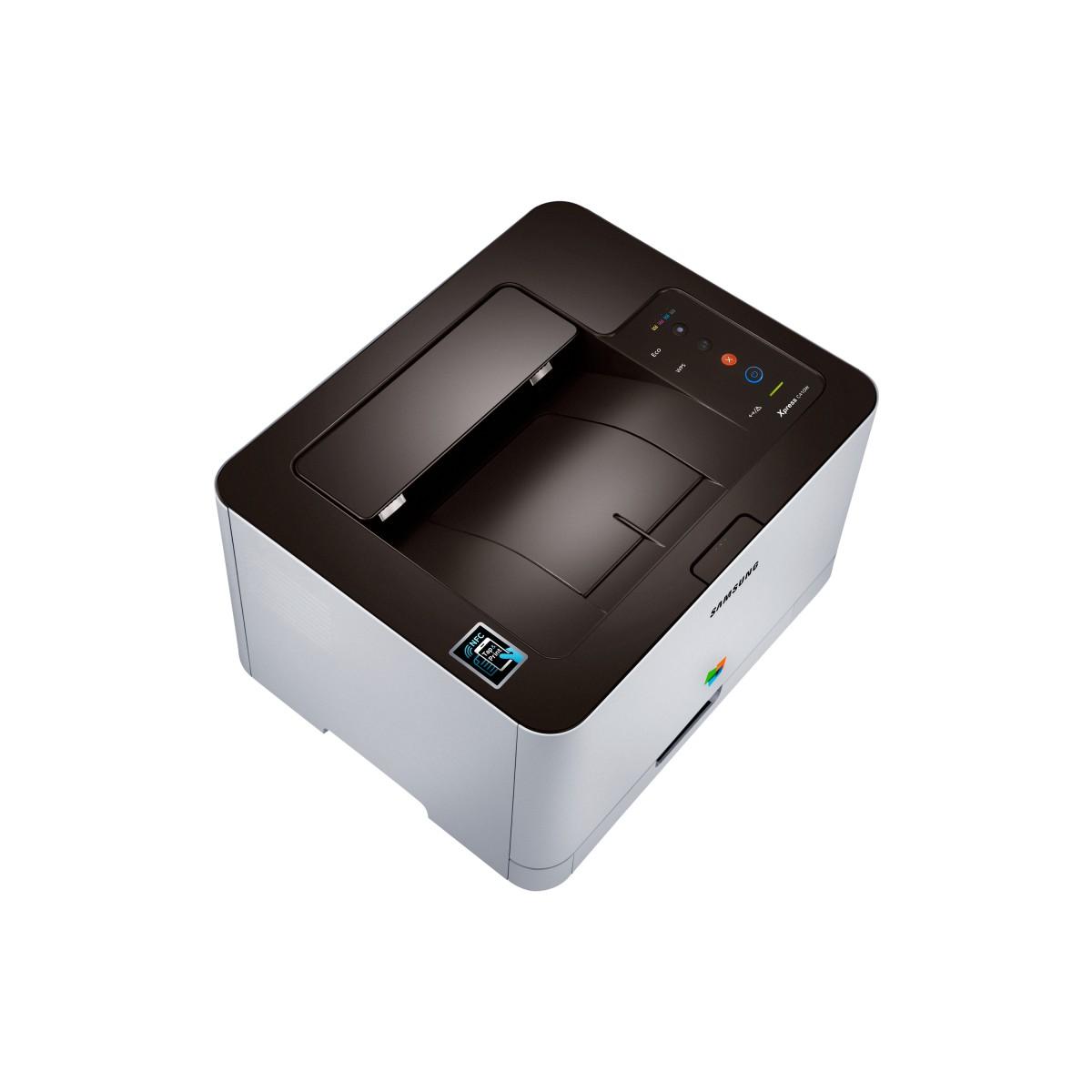 Impressora Samsung Xpress SL-C410W Laser Colorida  - ShopNoroeste.com.br