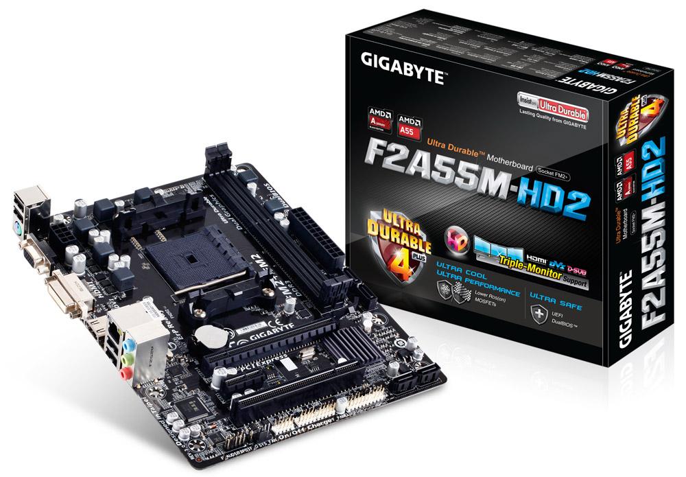 Placa Mãe Gigabyte AMD  GA-F2A55M-HD2 FM2+  - ShopNoroeste.com.br