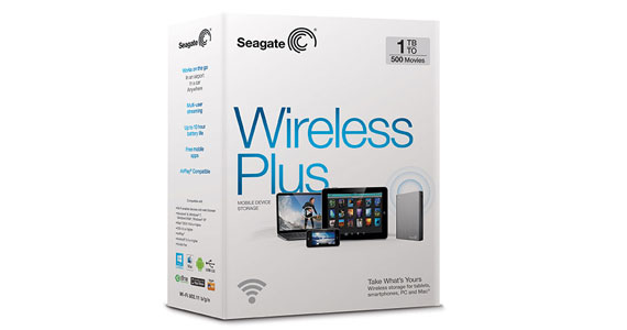 HD Seagate Externo USB 3.0 1TB Wireless Plus WiFi - STCK1000101  - ShopNoroeste.com.br