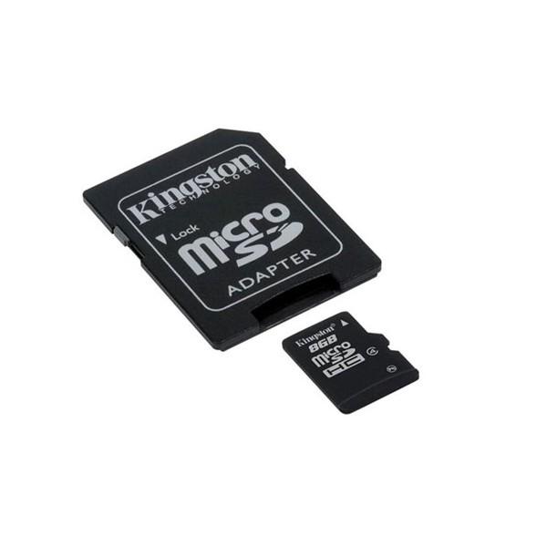 Cartão de Memória Kingston SDC4/8GB 8GB Micro SDHC  - ShopNoroeste.com.br