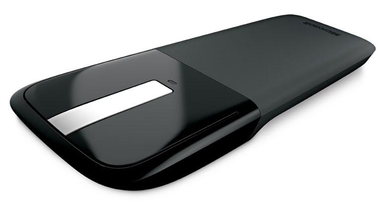 Mouse Microsoft ARC USB 2 Botões Óptico s/fio Preto RVF-00052  - ShopNoroeste.com.br