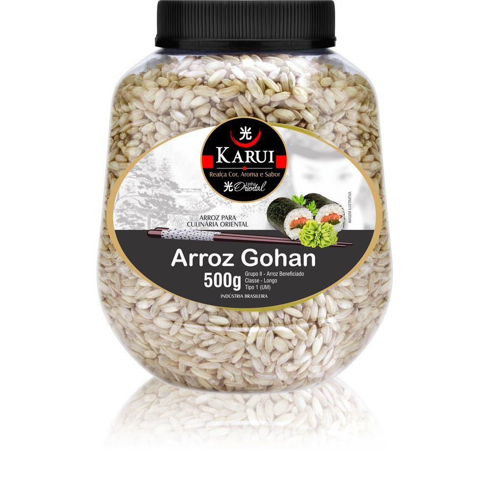 Arroz Gohan Karui 500g  - ShopNoroeste.com.br
