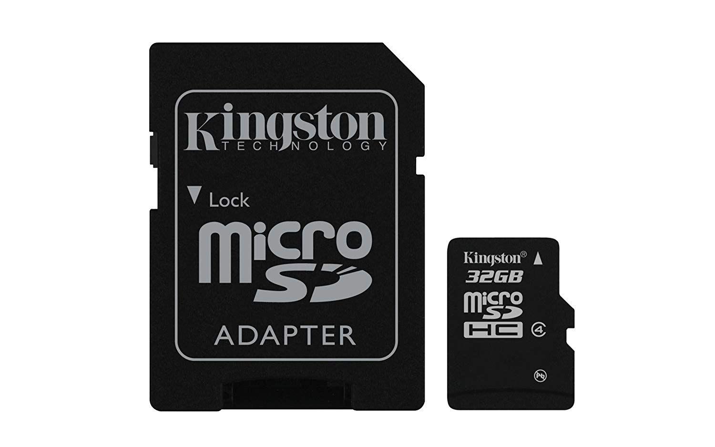 Cartão de Memória Kingston SDC4/32GB 32GB Micro SDHC  - ShopNoroeste.com.br