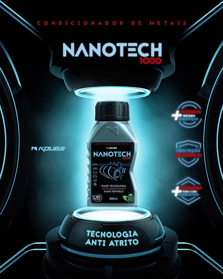 Condicionador de Metais Nanotech 1000 Alto Desempenho em Redução de Atrito Koube  - ShopNoroeste.com.br
