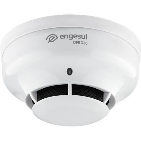 Detector De Fumaça Endereçável Ip 20 DFE 320 Engesul  - ShopNoroeste.com.br