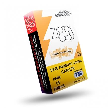 Essência Narguile Ziggy Cajú Tropical 50g  - ShopNoroeste.com.br
