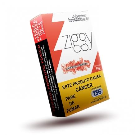 Essência Narguile Ziggy Laranjola Tropical 50g  - ShopNoroeste.com.br
