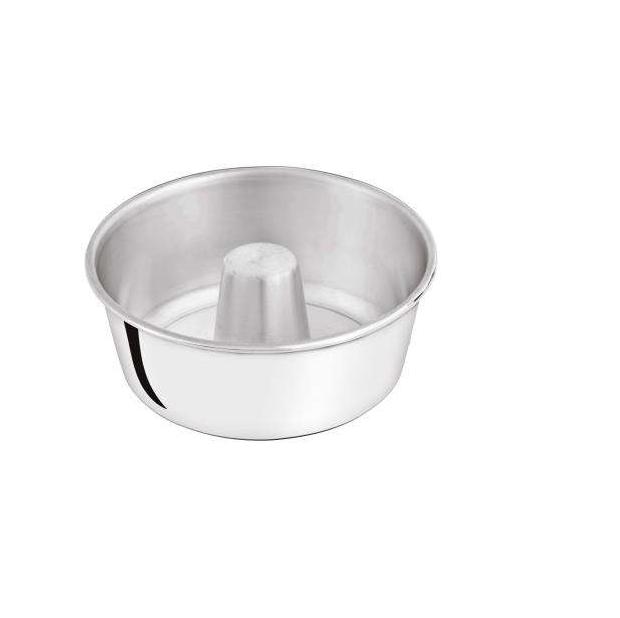 Forma para Pudim Alumínio Marlux 16cm Polida  - ShopNoroeste.com.br