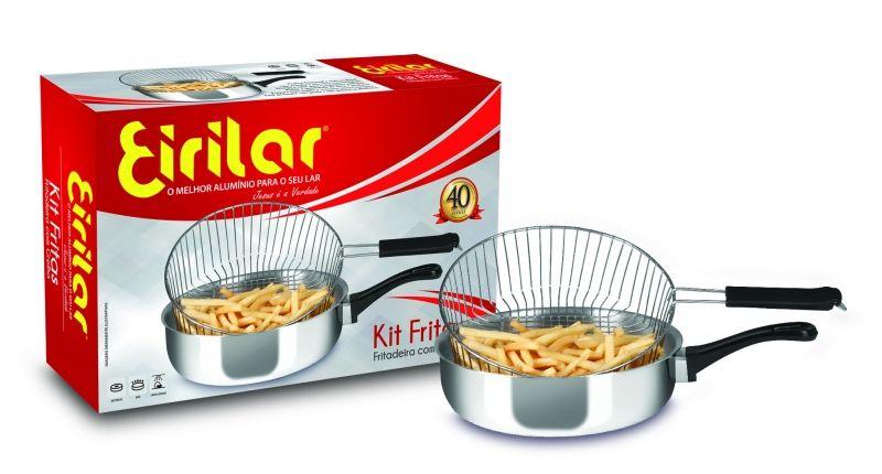 Fritadeira Kit Fritas Eirilar 2,5 Litros com Grelha Removível  - ShopNoroeste.com.br