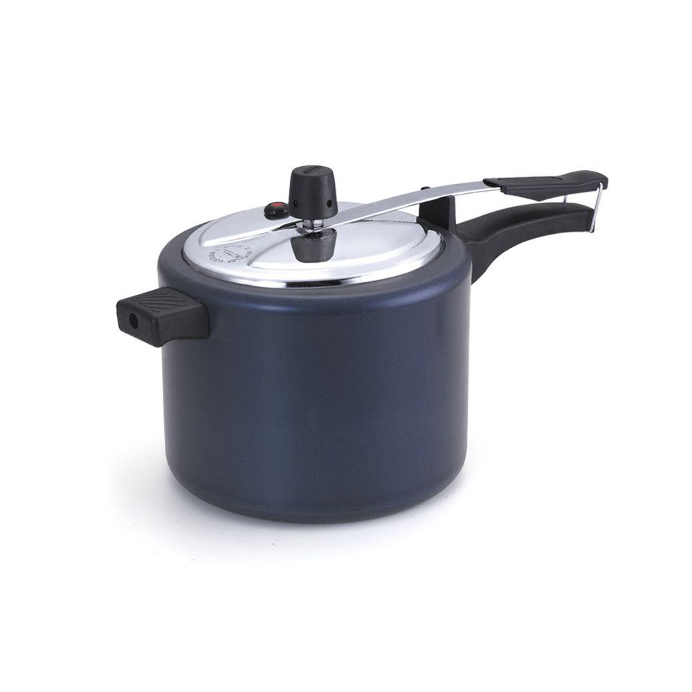 Panela de Pressão Oliveira Antiaderente 4 litros e Meio Azul Tampa Polida  - ShopNoroeste.com.br