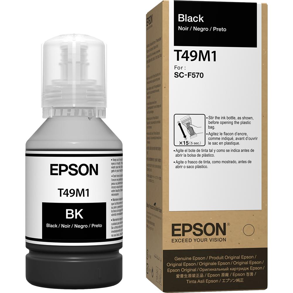 10 unid Tintas Sublimática Epson T49m Preto Para F570