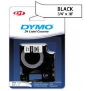 Fita Dymo D1 16956 Extra Forte 19mm Preto/Branco