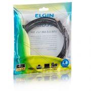 Cabo Elgin USB 2.0 AM x BM - Para o Uso em Impressoras