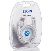 Cabo USB Apple Lightning Elgin - Uso Em Aparelhos Apple