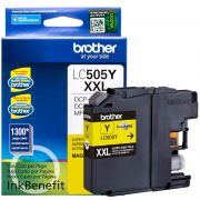 Cartucho Amarelo Brother LC-505Y MFC-J200 DCP-J105