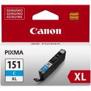 Cartucho de Tinta Canon CLI-151C XL Ciano Alto Rendimento