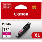 Cartucho de Tinta Canon CLI-151M XL Magenta Alto Rendimento